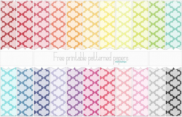 photograph relating to Printable Patterned Paper identify Mel Stampz: absolutely free papers (fresh new simpler downloads + scaled-down