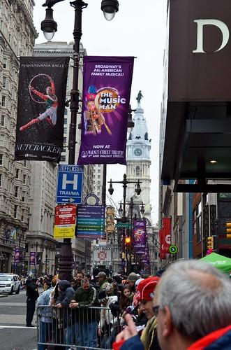 Mummer Parade, Scenery