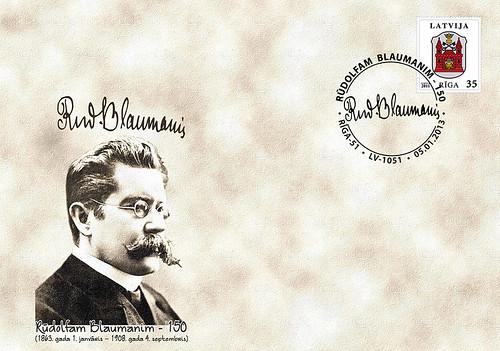 Rūdolfam Blaumanim 150