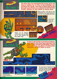 "NINTENDO POWER ::  MAY/JUNE 1989 // Vx p.11 "" TEENAGE MUTANT NINJA TURTLES "" { original review }"
