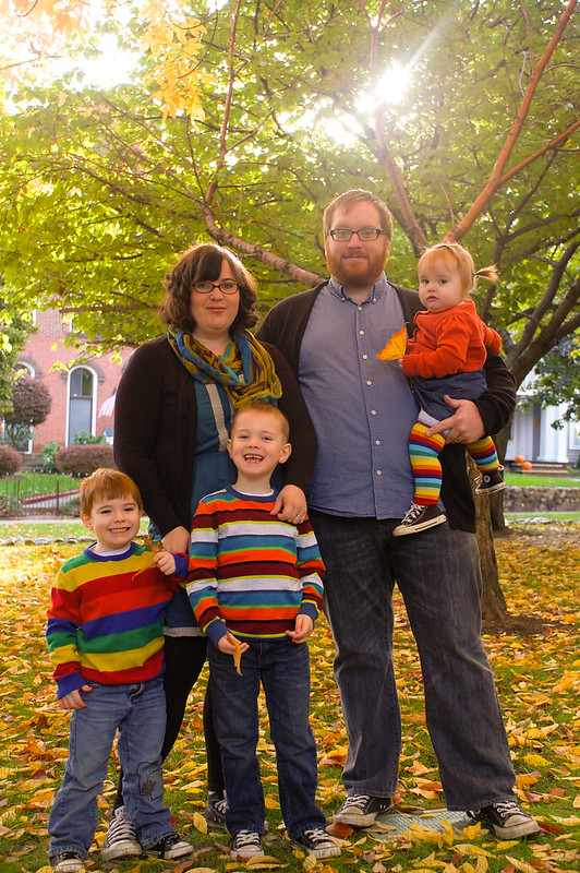 family photos, fall 2012
