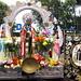 San Martín de Porres en la entrada al Mercado