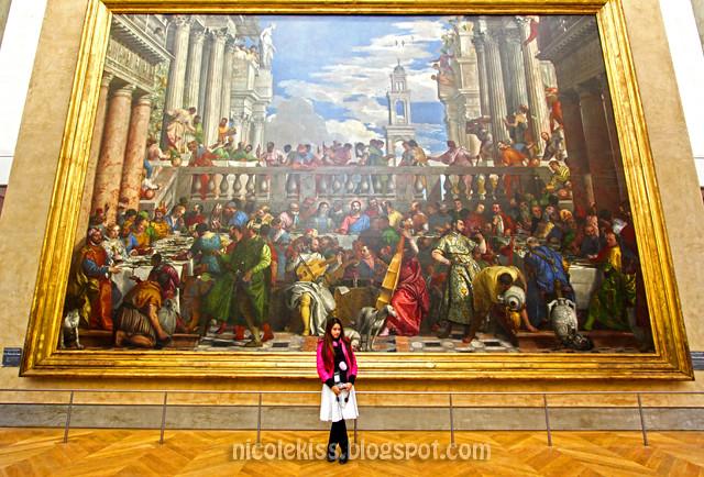 Paris The Louvre painting