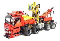 Tow Truck: 12 Pounds of Lego Technic