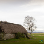 Farmhouse at Culloden Battlefield - Scotland