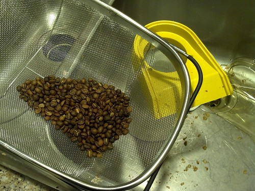 Just roasted my first batch of coffee at home!!!! by Steve Arnett