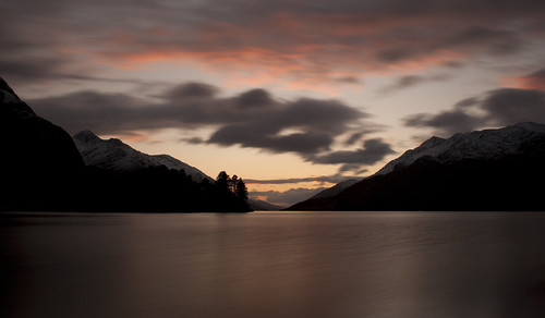 Loch Shiel at dusk by iiisecondcreep