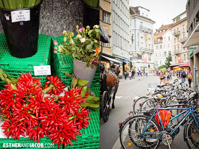 Market in Lucerne / Luzern Switzerland | Travel Photography
