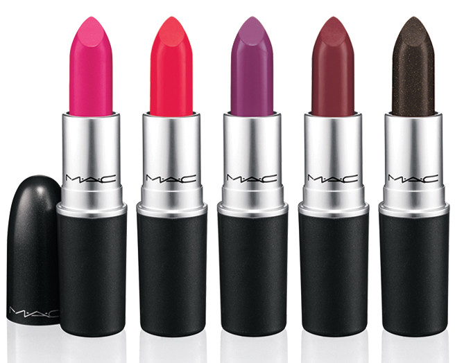 mac strength lipsticks