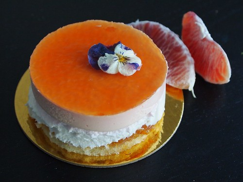blood orange mousse