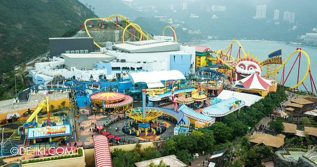 Ocean Park Tower Views: Thrill Mountain 2