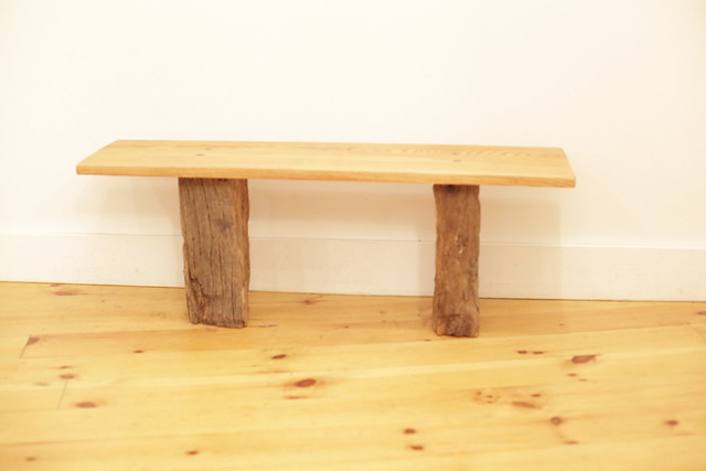 Tree Trunk Table Bench 20 Flickr Photo Sharing