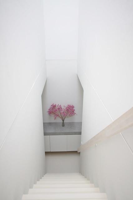 14.光の輪を作る階段室