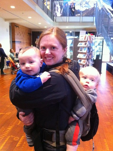 Franklin, Jenn, and Tyler at MOHAI