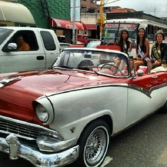 automobile, automotive exterior, 1955 ford, vehicle, compact car, sedan, classic car, vintage car, land vehicle, luxury vehicle, convertible,