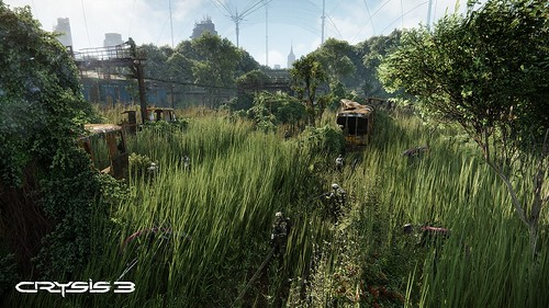 Crysis 3 - Field - Screenshot