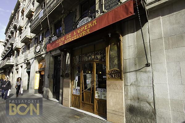 Café de l'Opera, las Ramblas, Barcelona