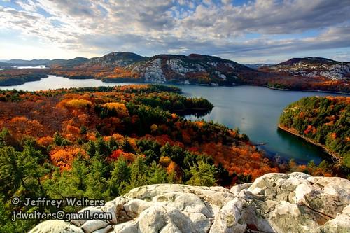 autumn ontario canada mountains lakes fallfoliage quartz osa thecrack killarneyprovincialpark