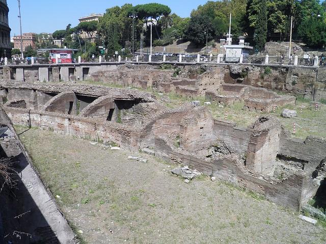 Ludus Magnus, Colosseum Valley, Rome