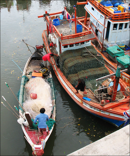 Koh Siray Fishing Boats