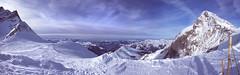 En la cima del Jungfrau