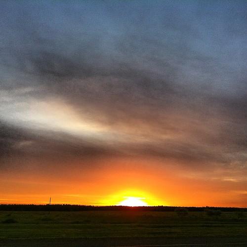 [Foto] Fim de tarde na fronteira com a Argentina (sem filtro)