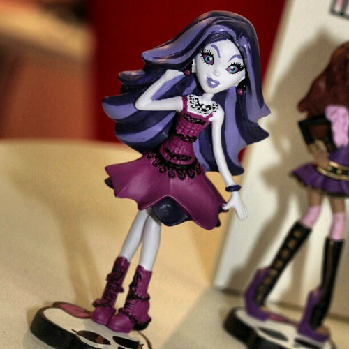 #MonsterHigh mini figures from Spain #Nuremberg #ToyFair #WorldToyTour