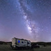 Camping under the Milky Way in the Anza-Borrego Desert by slworking2