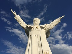 John Paul II. The largest pope statue in the world (4)
