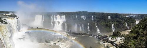 Foz do Iguaçu: vue d'ensemble depuis la tour d'observation
