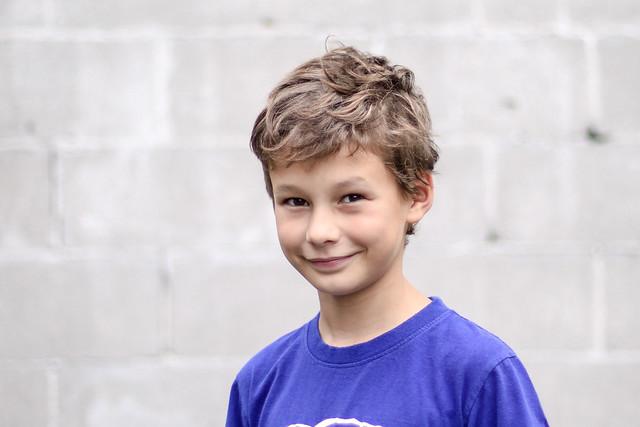 Axel et le difficile sourire :)