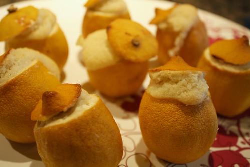 cake in a lemon by Rakka