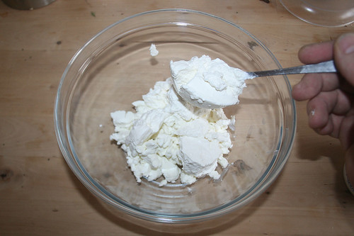 32 - Ricotta addieren / Add ricotta