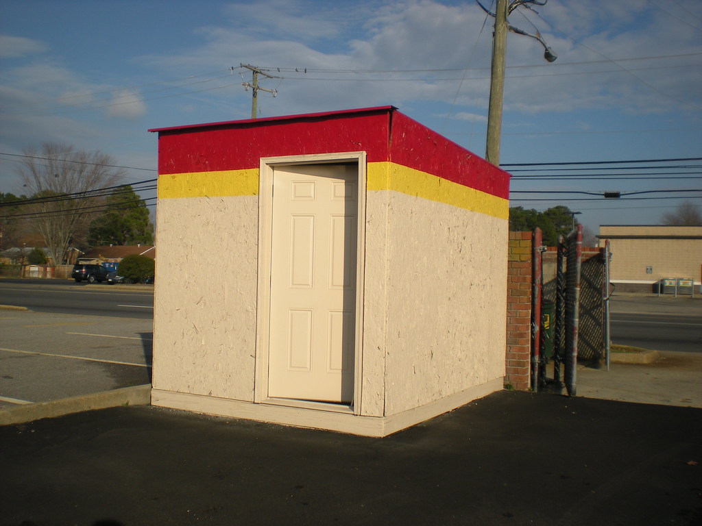 Fast Auto Loans, Inc. storage shed