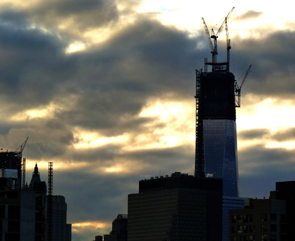 WTC1 Cranes
