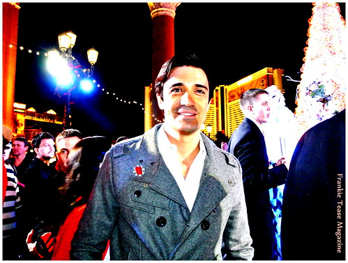 Gilles Marini Winter in Venice 2012