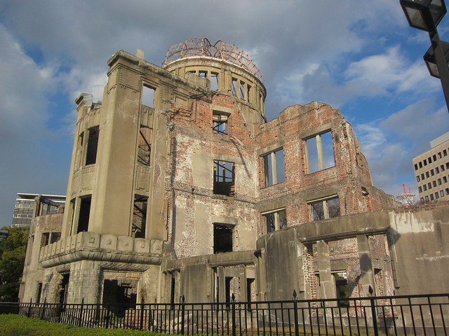 Hiroshima A-Bomb Dome by CC user terrazzo on Flickr