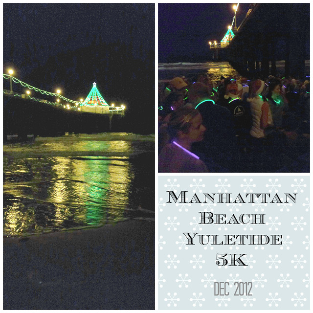 Manhattan Beach Yuletide 5K Dec 2012