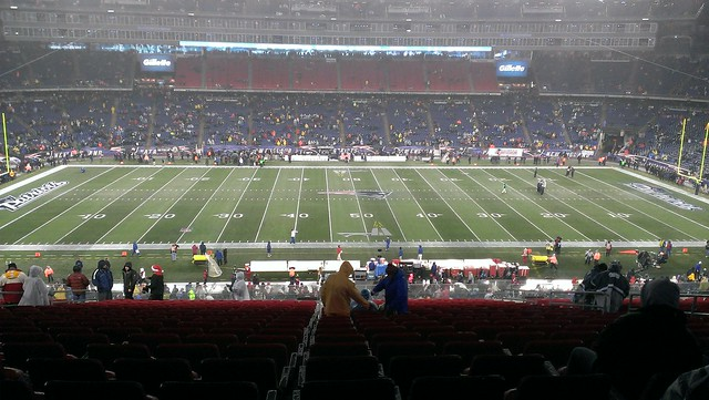 Pregame at Foxboro - 49ers @ Patriots