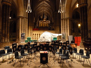 ShelterBox at Rotary in Lincoln Festival of Carols Lincoln Cathedral, Lincoln