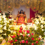 Easter Flower Altar - San Cristobal de las Casas, Mexico