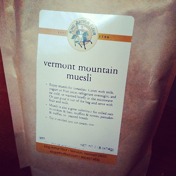 vermont mountain muesli