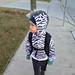Zebra punk 1st grade style by happykatie
