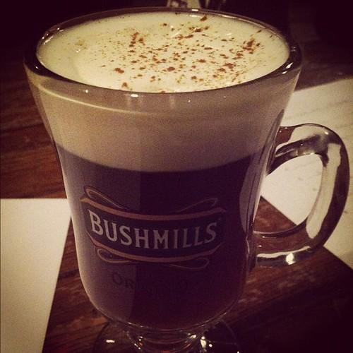 Irish coffee and trivia