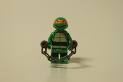 LEGO Teenage Mutant Ninja Turtles Kraang Lab Escape (79100) - Michelangelo