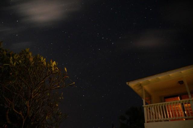 Stars in Kaui