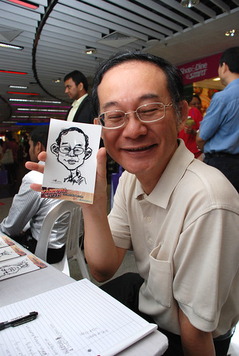 digital live caricature sketching for iCarnival (photos) - Day 1 - 62