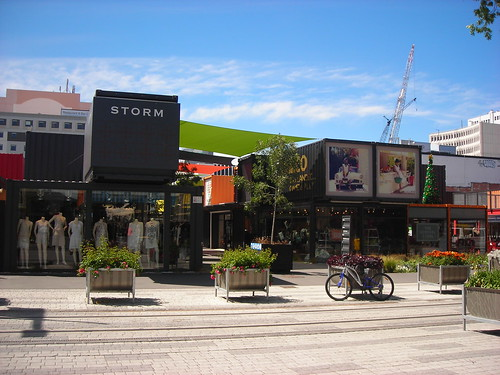 Re:START - Pop up mall in Christchurch
