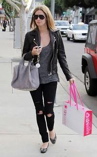 Nicky Hilton Studded Loafers Celebrity Style Women's Fashion