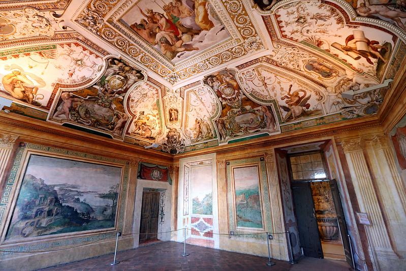 Villa d'Este ceiling